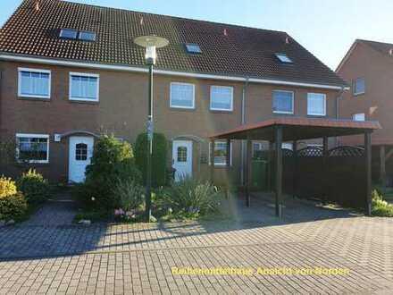 ruhiges Reihenhaus mit fünf Zimmern und Einbauküche an der Landwehr, Neubrandenburg