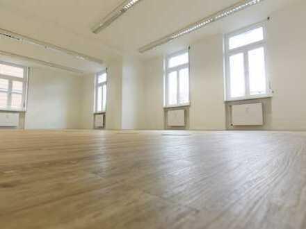 Provisionsfrei: Büroflächen am Rathausplatz / 2 Etagen, getrennt oder gemeinsam, d.h. ab 280 qm