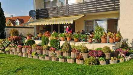 Schön geschnittene 3-Zimmer-Erdgeschosswohnung mit großer Terrasse in Ingolstadt (Ringsee)
