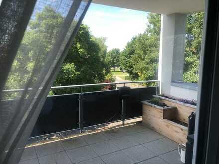 Schöne 3,5-Raum-Wohnung mit EBK und Balkon in Laupheim