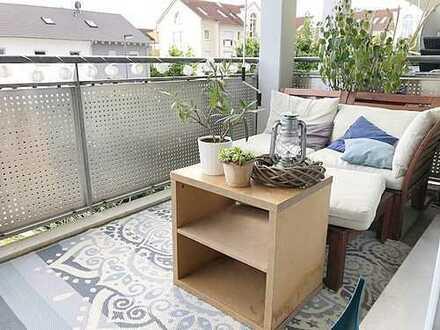 Modern - Hell – Sonniger Balkon!