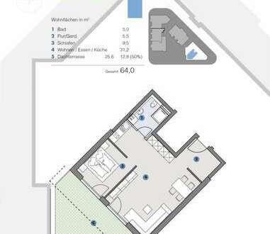 Penthouse-Wohnung für Paare - T5 Wohnareal - fortschrittlich, nachhaltig, innovativ