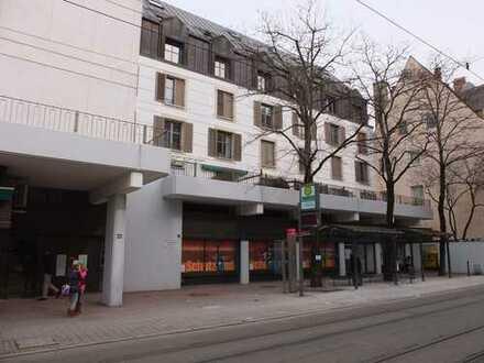 Schönes Appartement in Augsburg, Innenstadt Bestlage, vollmöbliert