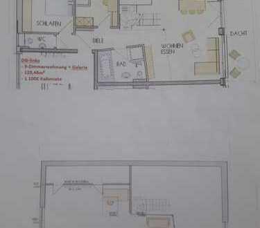 Schöne, geräumige vier Zimmer Wohnung in Alb-Donau-Kreis, Langenau