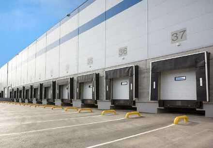 PROVISIONSFREI: Ca. 17.000 qm Lager / Logistik | Rampe | 5,50 - 8,00 m UKB !