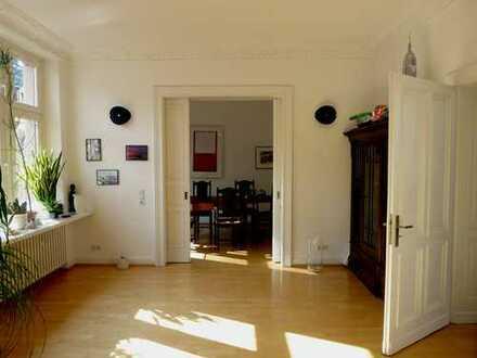 Luxus Jugendstilwohnung über 2 Etagen 170 m²; 6 Zimmer