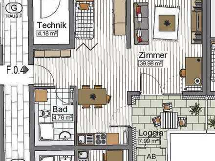 *Warmmiete! 1,5-Zimmer Appartement mit Balkon