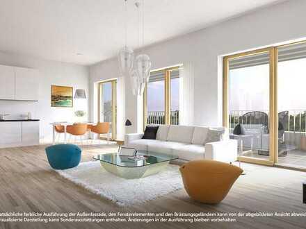 EXKLUSIV   Dachgeschoss-Wohnung mit sonniger Rooftop-Terrasse (WE 47.A.03)