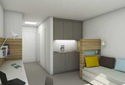 Modern möbliertes Apartment in der Heidelberger Bahnstadt