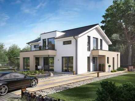 Wohnen und Arbeiten unter einem Dach - Haus inkl. Grundstück