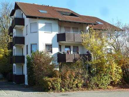 Attraktive 2 Zimmer-ETW mit Garage und Balkon in stadtnaher Wohnlage von Bad Waldsee