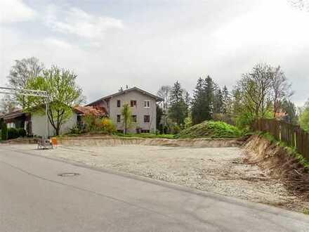 Baugrundstück mit Seeblick m. Baugenehmigung für 3-Familienhaus in Oberhausen/Lkr. WM-SOG