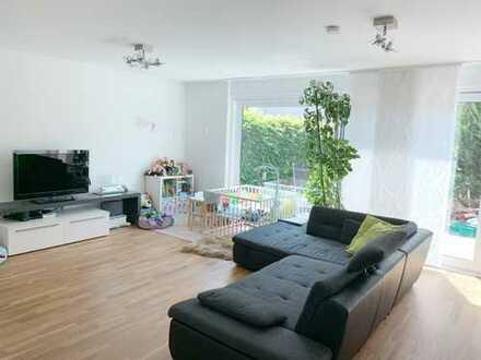 Helle 4,5-Zimmer-Maisonette-Wohnung inkl. 2 Stellplätze mit schöner Terrasse am Park