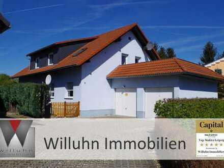 Eine ganze Ebene - schöne Siedlungslage, Einbauküche, Dachterrasse, Garage, Stellplatz und Garten