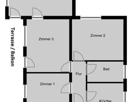 Gepflegtes Zweifamilienhaus in Rainer Kernstadt zu Verkaufen