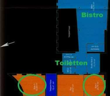 ToFa: Mainz DRAIS: alle 3 oder 1: Büroräume in einzigartiger Liegenschaft mit vielen Möglichkeiten