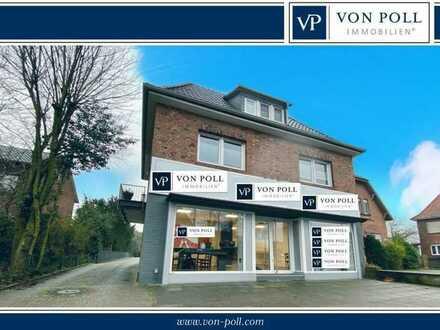 BIETERVERFAHREN Renoviertes Wohn- und Geschäftshaus mit bebaubarem Grundstück in Meppen/ Esterfeld