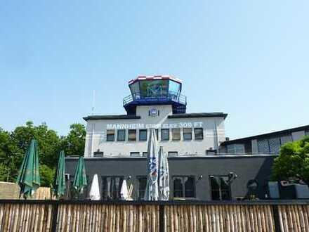 Am Cityairport - Besondere Gewerberäume im ehemaligen Flughafentower!