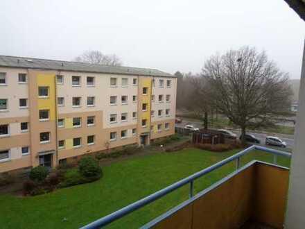 helle Drei-Zimmer-Wohnung im Grünen