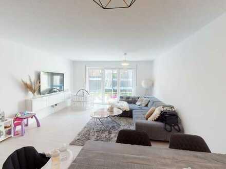 Hochwertige Neubauwohnung zentral in Leer- Loga mit Südwest-Terrasse!