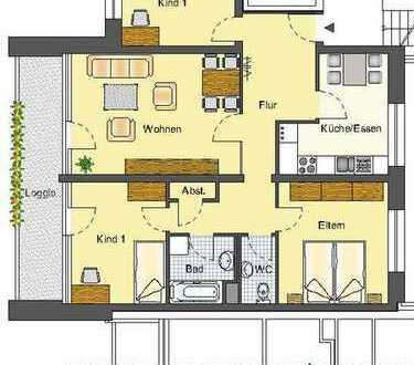 Familien aufgepasst! Top Wohnung in grüner Lage!