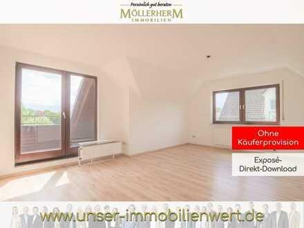 Geräumige 4-Zimmer Dachgeschosswohnung mit Dachterrasse in St.-Magnus