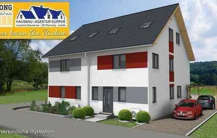 Schlüsselfertige Doppelhaushälfte im gewachsenen Wohngebiet von Lorsch