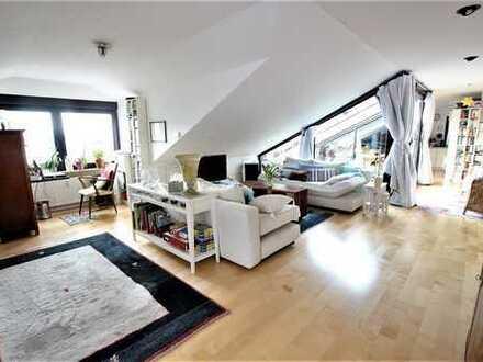 LICHT, LUFT, WEITSICHT! Traumhafte DG-Wohnung mit großer Sonnenterrasse in Ziegelhausen