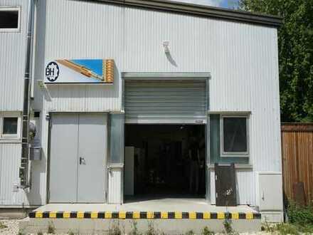 Industriehalle & Büro