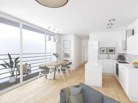 Mit einem Platz an der Sonne! - Lichtdurchflutete Wohnung mit Dachterrasse
