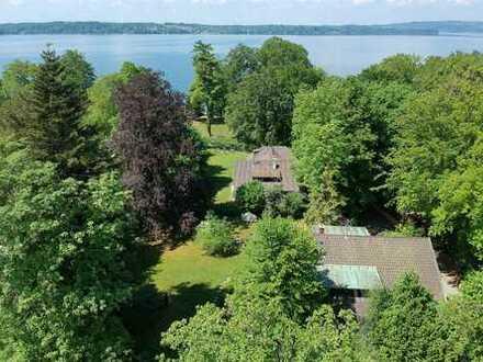 Traumhaftes Grundstück mit Seeblick und ausgezeichnetem Baurecht