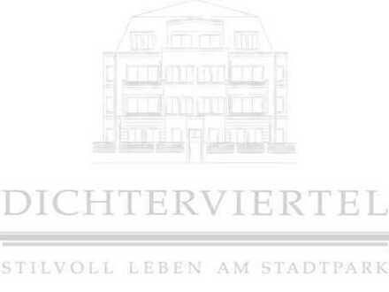 Dichterviertel - STILVOLL LEBEN AM STADTPARK - Haus im Haus - in Haus Schiller, Gartensondernutzung
