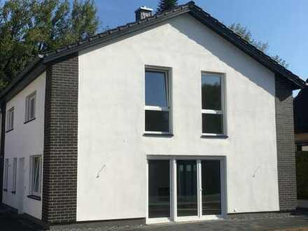 Top Moderne Neubau-Doppelhaushälfte - Bezugsfertig - in erstklassiger Waldrandlage!