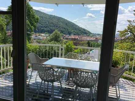 R A R I T Ä T in Heidelberg-Neuenheim mit unverbaubarem Blick