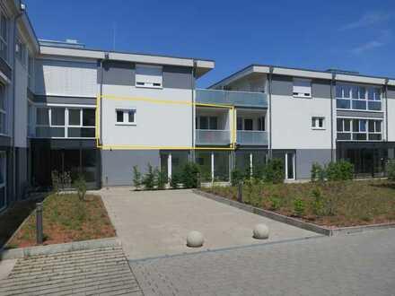 Betreute Senioren-Komfortwohnung mit 3,5 hellen Zimmern, Einbauküche und Loggia