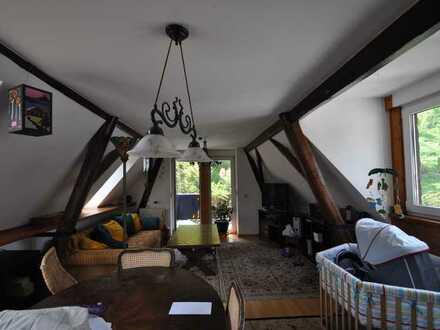 Super Dachgeschoss mit Traumblick ins Grüne