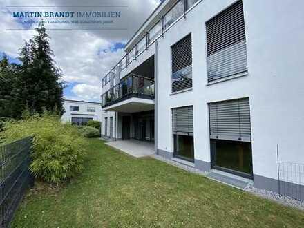 Moderne 3 Zimmer EG-Wohnung mit Einbauküche, Terrasse und Garten in bevorzugter Wohnlage von Idstein