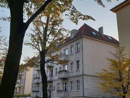 1-Zimmer-Altbauwohnung in Berlin Wilhelmsruh - bezugsfrei