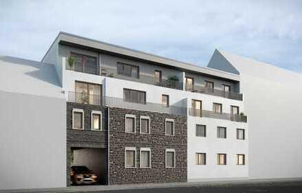Neubau: 71qm in der Stadt, hohe Decken, Barrierefrei !