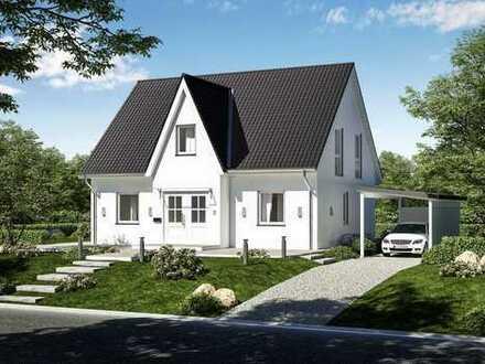 Haus mit Friesengiebel auf Rügen