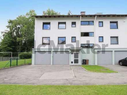 Gepflegt und idyllisch: 3-Zimmer-ETW mit Terrasse und optionaler Garage