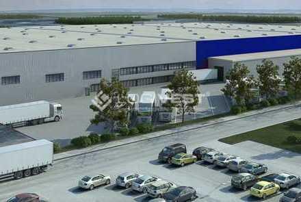 Projektierter Neubau - 300.000 m² Lagerfläche möglich