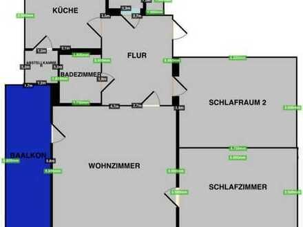 Schöne 3-Zimmer-Dachgeschosswohnung mit EBK und Balkon in Lindenthal, Köln