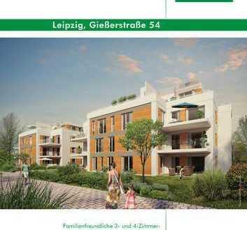 """""""WohnOase"""" 4 Zimmer-Neubauwohnung mit großem Balkon, BAUBEGINN IST ERFOLGT!"""
