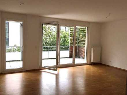 Neuwertige 3-Raum-Wohnung mit Balkon in Waldkirch, mit Blick zur Kastelburg