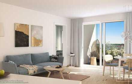 Urbane 2-Zimmer-Wohnung mit zeitgemäßer Ausstattung und Loggia in harmonischer Umgebung