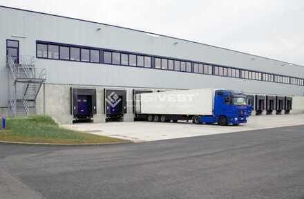 Neubau einer hochmodernen Logistikhalle bei Ingolstadt