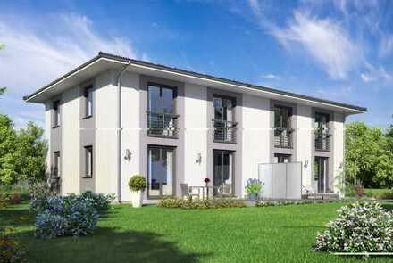 Charmantes Grundstück für Doppelhaushälfte in Johannesthal (fußläufig zur S-Bahn)