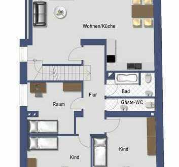 Grosszügige 5-Zimmer-Maisonette-Wohnung mit Terrasse in Köln-Longerich
