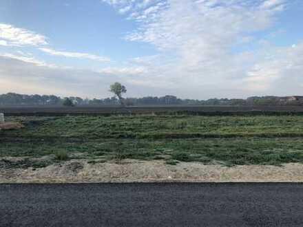 Letztes Grundstück mit Feldrandlage
